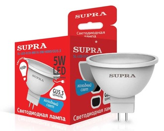 SUPRA SL-LED-ECO-MR16-5W/4000/GU5.3